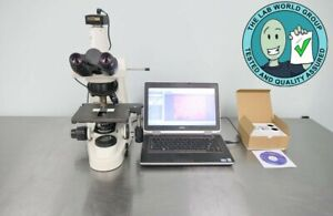 Nikon Eclipse 50i Microscope With Warranty See Video