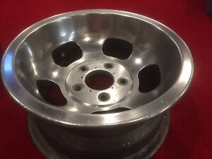 Vintage Aluminum Slot Mags Foresight Ventures Halibrand Gasser Hot Rat Rod Wheel