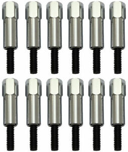 For Small Block Ford 260 289 302 351w Chrome Valve Cover Bolt Set Stud Sbf 12pc