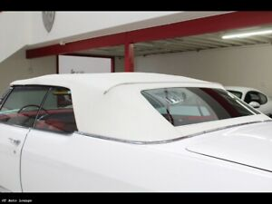 1967 1970 Cadillac Olds 98 Electra Convertible Top Glass Window Pads Gm White