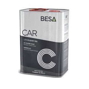 1 Gallon Besa Car Polyurethane Medium Solid 4 1 Clear Coat Clearcoat Urkiclear