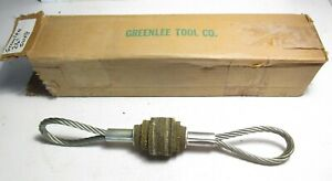 New Greenlee 2 1 2 Duct Or Conduit Cleaning Swab For Cable Pulling