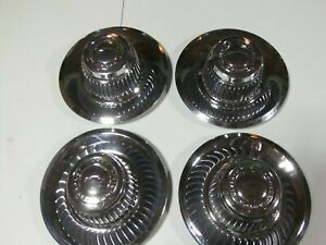 Chevy Rally Wheel Center Caps Bow Tie 71 1031 Set Of 4 Used