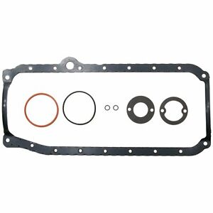 Clevite Mahle Os32496b Oil Pan Gasket Set 1986 02 Small Block Chevy 265 305 350