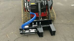 Tree And Post Puller For Dingo And Ditch Whitch With Lines And Couplers