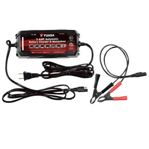 Yuasa 3amp Automatic Battery Charger Maintainer