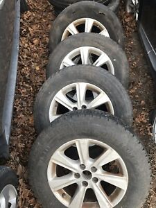2013 Toyota Highlander 17x7 1 2 Alloy 7 Spoke Wheel Set Of 4 245 65 17
