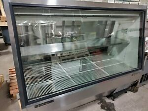 True Tdbd 72 2 Double Duty Deli Case Holds 38 f To 40 f Meat Cheese Lighted