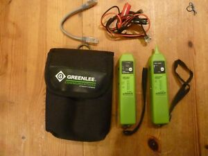 Greenlee Tone Probe Cable Check Receiver Tone Generator Cable Check Transmitte