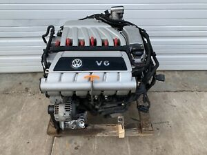 Vw Mk5 R32 3 2l Vr6 Complete Engine With 135k Miles Cbra Timing Chains Replaced