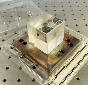 Asml Optic Pn 854 0191 002 Optical Beam Splitter Cube 2 Inch