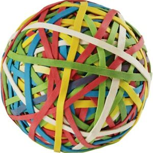 Acco Rubber Band Ball 0 8 Length X 0 1 Width Assorted 72155 1 Each