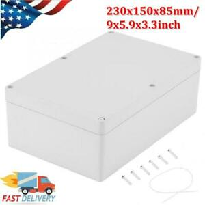 Plastic Junction Box Universal Electric Project Enclosure Case Waterproof