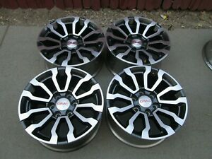 18 Gmc Chevy 1500 Factory Oem Wheels Rims Set 4 At4
