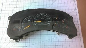 1999 2002 Chevy Gmc Truck 2500 Instrument Cluster Gauges 09363065 Trans Temp