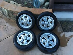 Fuch Wheels 15x6 Porsche Vw 5x130 Used Reproductions Vintage Repops