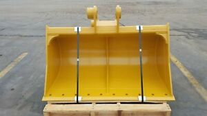 New 60 Ditch Cleaning Bucket For A Caterpillar 214