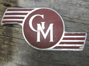 Gmc Vintage Chevy Emblem Badge Cover 1930s 1940s 1950s Logo