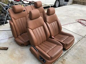 2006 Bentley Continental Flying Spur Seats Front And Rear