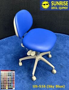 Adec 1601 Dental Doctor Stool Vinyl Material upholstery Color Of Choice