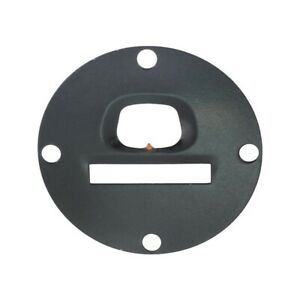 Model A Ford Speedometer Face Plate Black For Round Northeast Type