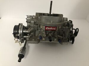 Edelbrock 1813 Thunder Series Avs Carburetor 4v 4bbl 800 Cfm Electric Choke