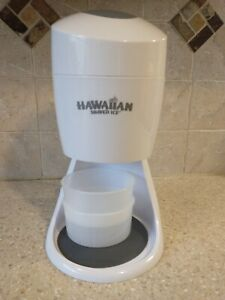 Hawaiian Shaved Ice S900a Machine Tested Working No Box