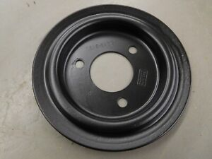 68 70 Mustang Fairlane Cougar 390 428 Fe Single Groove Crank Pulley C8ae 6a312 B