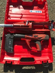 Hilti Dx 460 Mx 72 Powder Actuated Kit Attachment For The Ceiling