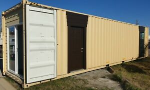40 Ft High Cube New Single Trip Shipping Container Home House Office