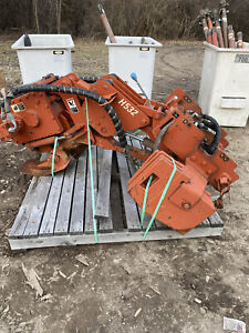 Ditch Witch H532 Trencher Backhow Rear Vibratory Plow Cable Plow Attachment