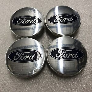 Set 4 Center Caps 2 1 2 Ford Expedition 2015 2020 Oem Polished fl34 1a096 fa