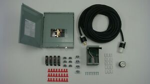 Manual Transfer Switch Kit For Generators 3500 7000 Watts 120 240 volt 30 Amp