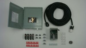 Manual Transfer Switch Kit For Generators 1800 3250 Watts 120 volt 30 Amp