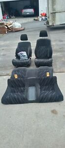 Front And Rear Seats 99 Honda Prelude
