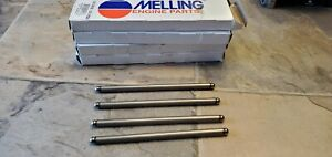 85 95 Ford Mustang 302 5 0 Pushrod Full Set 16 Roller Cam Factory Length Melling