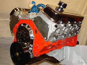 454 525hp High Perf Big Block Crate Bb Engine With Aluminum Heads And High Rise