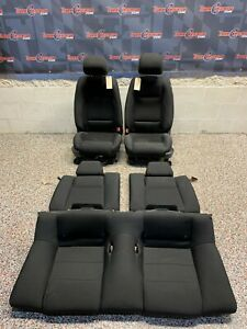 2014 Ford Mustang Gt Oem Cloth Front Rear Seats Coupe