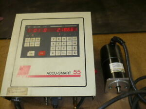 Smw Accu Smart 55 Control With Dc Servo Motor Fits Smw 4th Axis Rotary Tables