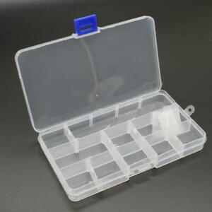 Toolbox Electronic Plastic Container Storage Component Transparent Pp Sewing