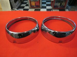 1941 42 Packard Headlight Bezels