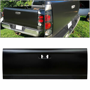 Steel Rear Tailgate Gate Replacement For 2002 2008 Dodge Ram 1500 2500 3500