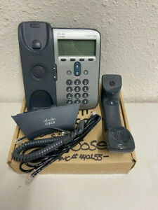 New open Box Cisco 7911g Unified Ip Phone