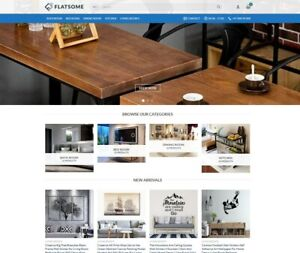 Turnkey Dropshipping Home D cor Interior Products Website Store Free Hoosting