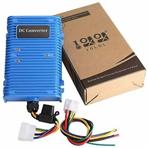 10l0l Golf Cart Voltage Reducer Converter 30 Amp 36v 48v To 12v With Dual Fits