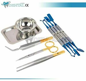 Prf Grf Dental Implant Box Set Of 9 Instruments Surgical Surgery Tools Kit Ce