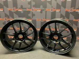 Enkei Pf01 Wheels 5x114 3 17x8 50 Pair Of Two 2