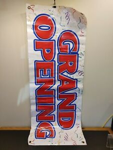 18 X 53 Inch Grand Opening Vinyl Banner Sign s2