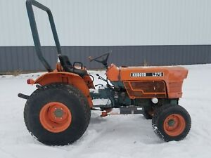 Kubota Tractor L275 Utility Compact