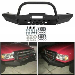 For Ford Ranger Modular Front Winch Bumper With Bull Bar 1998 2011
